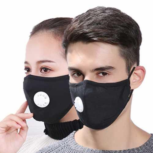 Mask Breath Respiration Valve PM2.5 Haze Protective Masks Dust Protection Cotton Winter Warm Masks