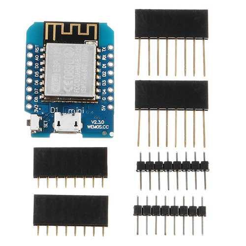 5Pcs Wemos® D1 Mini V2.3.0 WIFI Internet Of Things Development Board Based ESP8266 ESP-12S 4MB FLASH