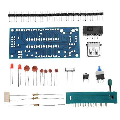 10Pcs DIY ATMEGA8 Minimum System Board ATmega48 ATMEGA88 Minimum System Board AVR Kit