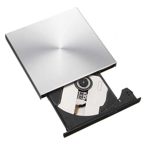 Portable External Slim USB 3.0 Pop-Up DVD-RW/CD-RW Burner Recorder Optical Drive