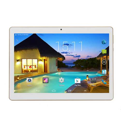 KT107H 16GB MTK 6582 Quad Core 10.1 Inch Android 5.1 Dual 3G Phablet Tablet