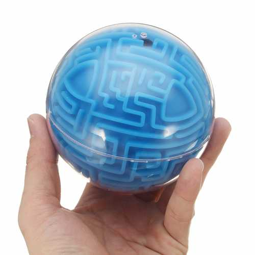 3D Labyrinth Maze Ball Toys Puzzle Track Speed Balance Finger Rolling Ball Intelligence Game Toy