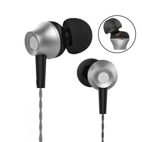 Langsdom M299 Metal 3.5mm Jack In-ear Earphone Headphone with Mic for iPhone Samsung Xiaomi Huawei