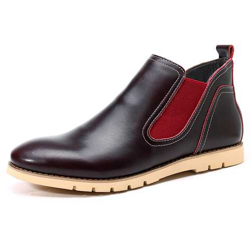 Comfy Casual Business High Top Oxfords