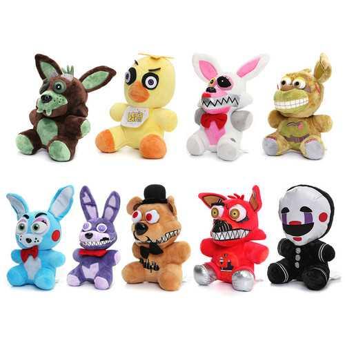 Cute Plush Stuffed PP Cotton Bear Foxy Duck Rabbit Puppet Children Gift