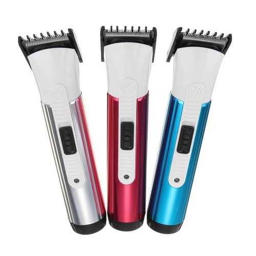 Rechargeable Electric Hair Clipper Trimmer Men Barber Kit