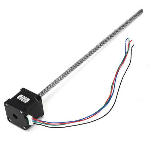 0.4NM 1.7A Stepper Motor With T8 Lead Screw For 3D Printer