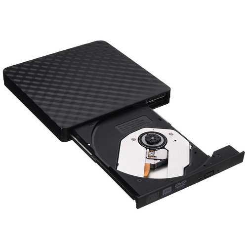Ultra-Thin External USB 3.0 8X CD DVD Player Recorder Writer Optical Drive