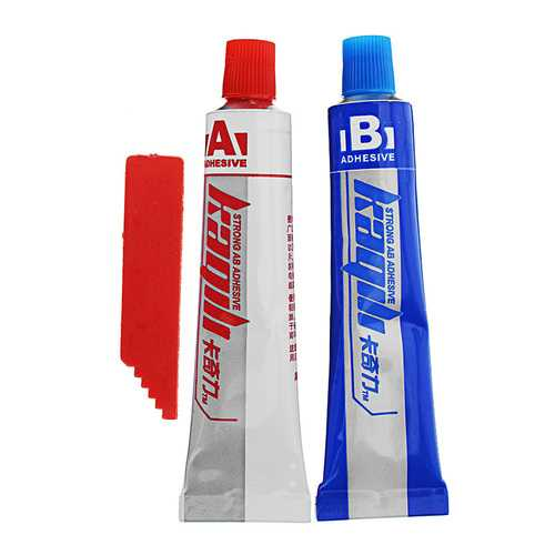 AB Modified Acrylic Adhesive Glue Strong Strength for Wood Metal Rubber Ceramics Leather Glass