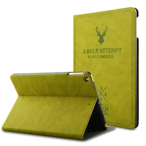 Vintage Smart Sleep Kickstand PU Leather Case For iPad Mini 1/2/3/4