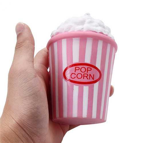 13CM Jumbo Squishy Popcorn Kawaii Food Cream Scented Slow Rising Kids Toy Gift