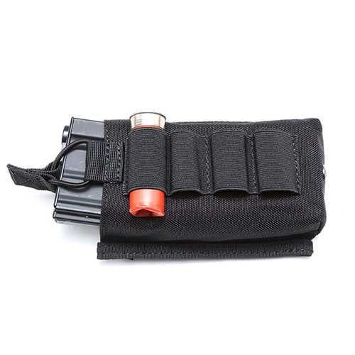 FAITH PRO 4 Hole Hunting Multi-function Tactical Molle Pouch Waist Bag Mini-bullet CS Airsoft