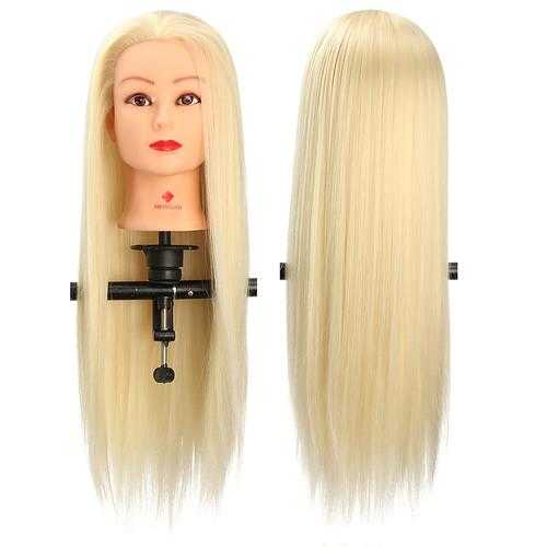 29'' Hair Salon Training Practice Head With Clamp