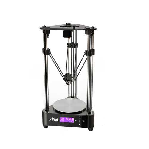 Anet® A4 Delta Diy 3D Printer Kit Metal Triangular Structure Support Remote Feeding 200*210mm Printing Size With 8GB SD Card