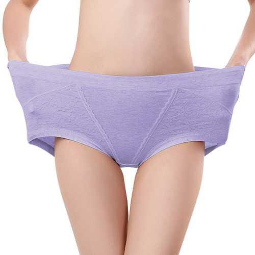 High Waist Cotton Full Hip Panties