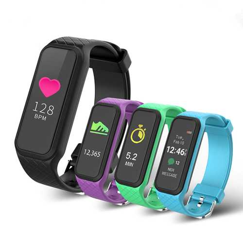 Bakeey X2 Colorful Screen Heart Rate Sleep Monitor Fitness Tracker Bluetooth Smart Wristband