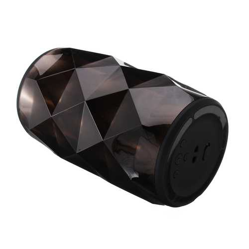 5W Wireless Crystal Vibe Smart LED Bluetooth USB SD Mic Portable Stereo Speaker