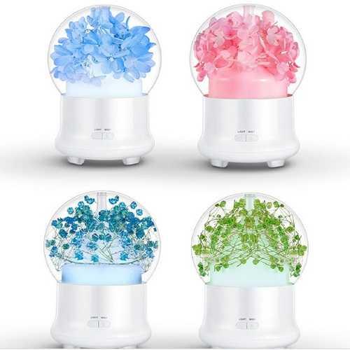 4 Colors Immortal Flower Mini Aroma Humidifier