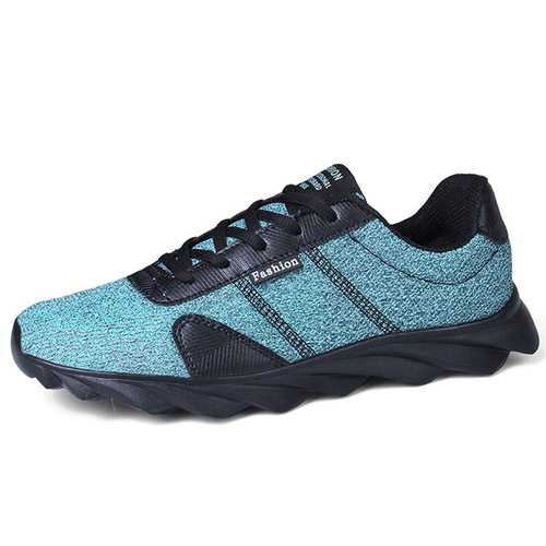 Men Casual Comfy Soft Light Weight Lace Up Sports Sneakers