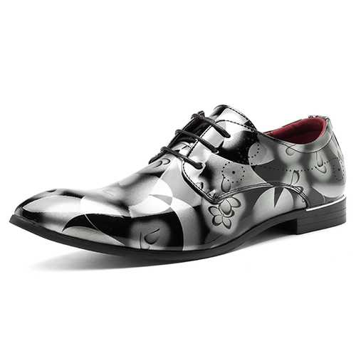 Men Comfy Leather Business Formal Shoes