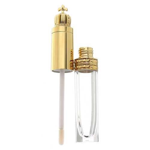 5Pcs 8ml Queen Gold Crown Empty Tube Refillable Bottles