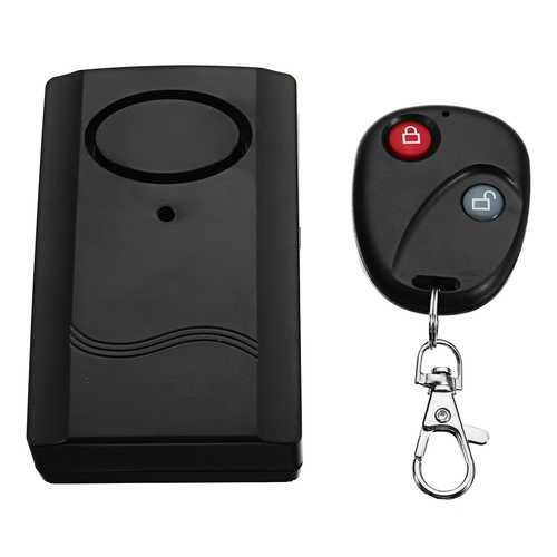 120db Wireless Remote Motorcycle Scooter Anti-theft Alarm Security System