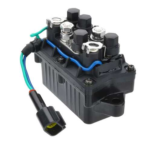 Trim Relay Assembly For Yamaha Outboard F150 F250 4 Stroke Engine 63P-81950-00-00