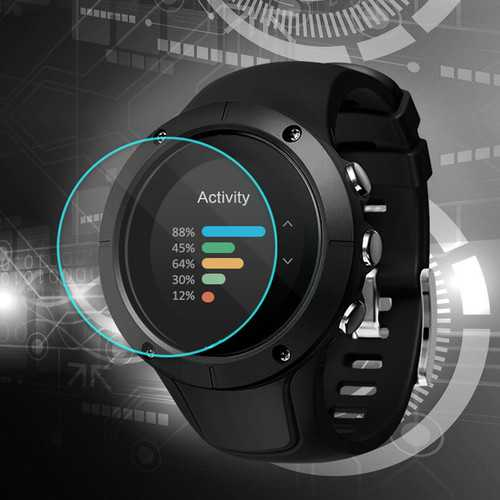 2.5D 9H-Hardness Tempered Glass Film Guard for Suunto Spartan Trainer Wrist HR