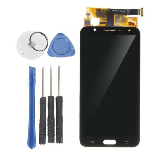 Full Assembly LCD Display+Touch Screen Digitizer Replacement With Repair Tools For Samsung Galaxy J7 2015