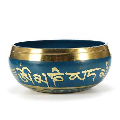80mm Blue Tibetan Yoga Singing Bowl