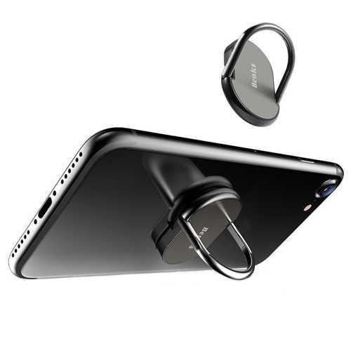 Benks 3 in 1 Metal 360 Degree Rotation Desktop Phone Stand Finger Ring Holder for Xiaomi Samsung