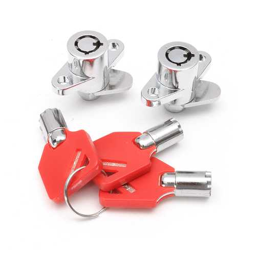 Saddlebag Lock Key Set For Harley Davidson Touring Electra Road Glide King