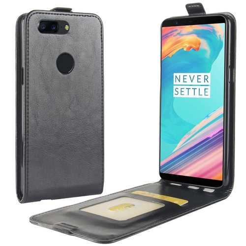 Bakeey Flip Wallet Card Slot Stand PU Leather Back Cover Protective Case For OnePlus 5T