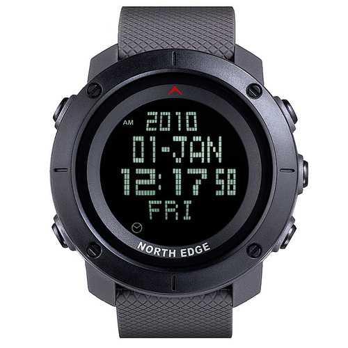NORTH EDGE TANK 50M Waterproof Military Men Sport Watch