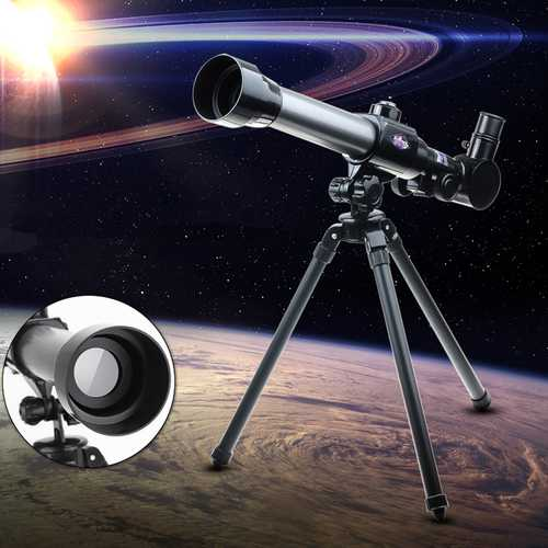 20X-40X HD Simulation Astronomical Telescope Preschool Scientific And Creative Experiment