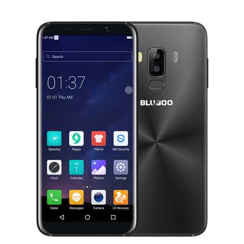 Bakeey Ultra Thin Transparent Soft TPU Protective Case For BLUBOO S8