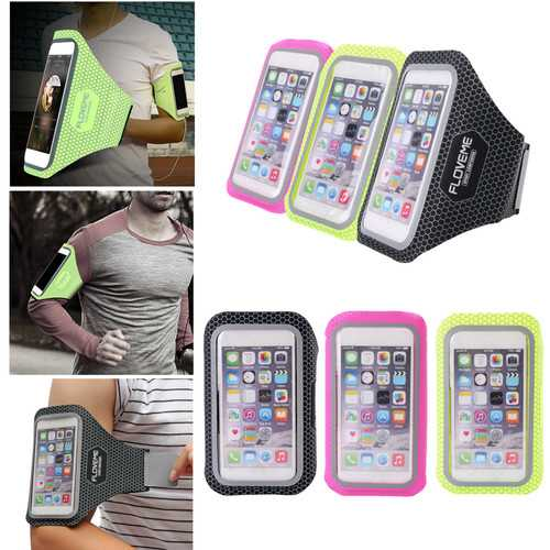 BIKIGHT Waterproof Sports Running Jogging Gym Arm Hand Band Holder Bag Case for iPhone 6/7