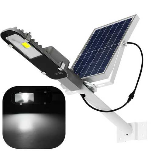 12W Solar Powered LED COB Light-controlled Sensor Street Road Light Waterproof for Outdoor Garden