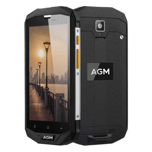 AGM A8-EU 5.0-Inch Corning Gorilla Glass 3 IP68 4GB RAM 64GB ROM Snapdragon 410 4050mAh Smartphone