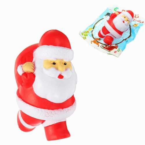 Chameleon Squishy Santa Clause Father Christmas Slow Rising With Packaging