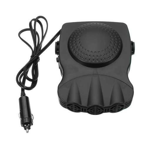 Portable 2 In 1 12V 150W Auto Car Heater Defroster Hot Cool Fan Windscreen