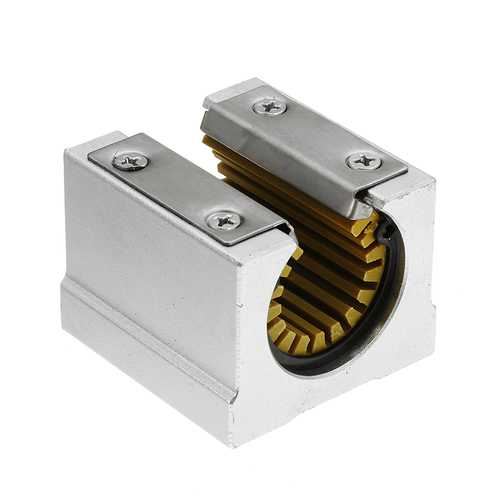 Machifit Solid Polymer SBR20UU 20mm Open Block Linear Bearing Slide CNC Router Linear Slide