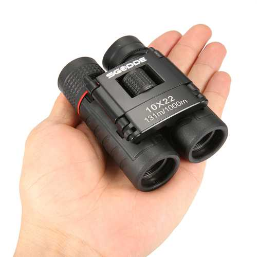 10x22 Binocular Low Light Level Night Vision HD Optic Lens Telescope IP4 Waterproof