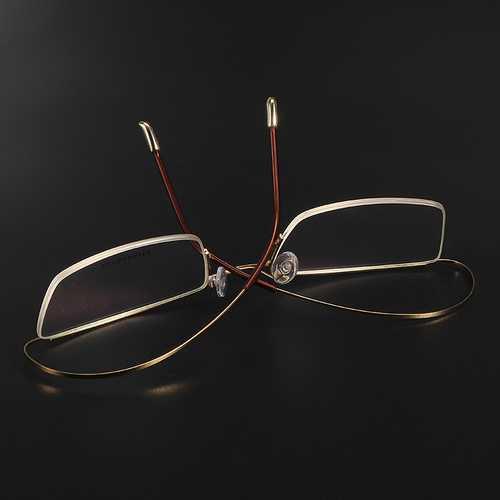 BROADISION Titanium Alloy Glasses Frame