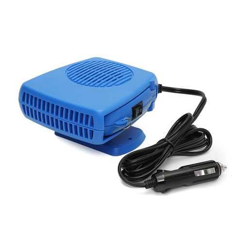 200W DC 12V Portable Car Ceramic Heating Cooling Heater Fan Defroster Demister