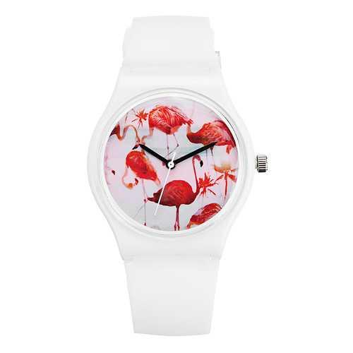 DF-0308 Flamingo Ladies Wrist Watch