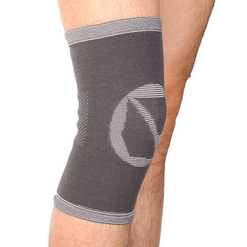 Mumian A05 Classic Bamboo Knee Knitting Warm Sports Knee Pad Knee Sleeve Brace - 1PC