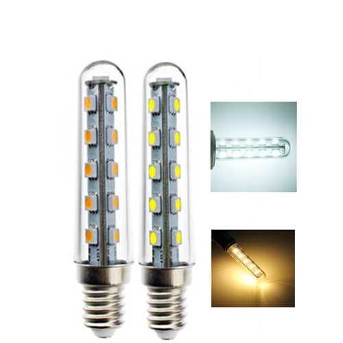 E14 2W SMD5050 16LEDs Warm White Pure White Light Bulb for Refrigerator Cooker AC220V