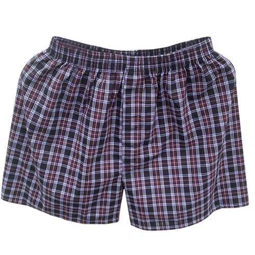Arrow Pants Checkered Soft Comfortable Cotton Boxers Briefs