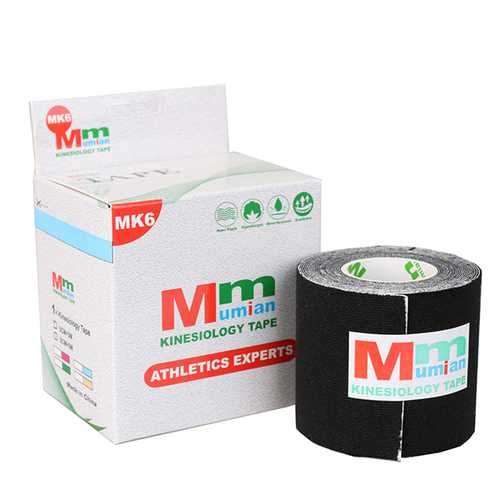 Mumian MK6 5M*5CM Athletic Muscle Tape Kinesiology Tape Sports Muscles Care Therapeutic Bandage